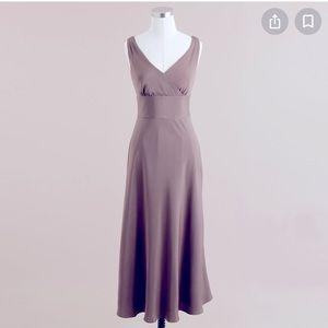 J. Crew Sophia Dress in Silk Tricotine